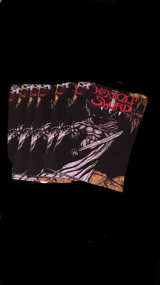 Werwolf Sword Issue 1 Comic Book
