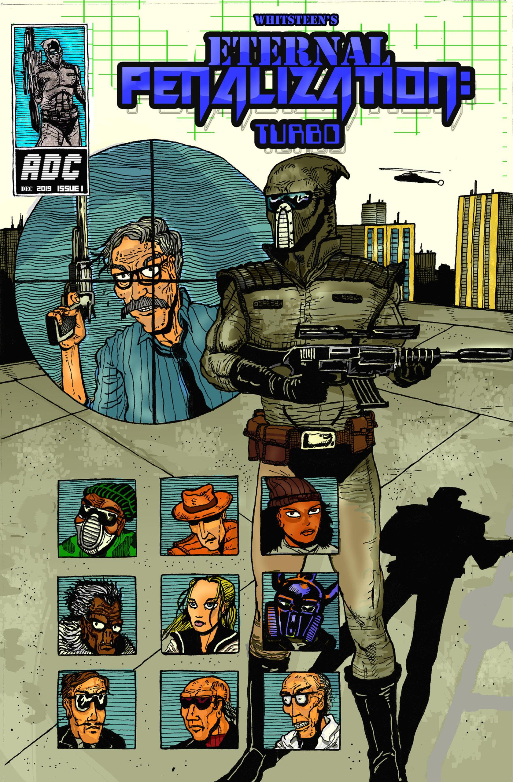 Eternal Penalization: Turbo Comic Book