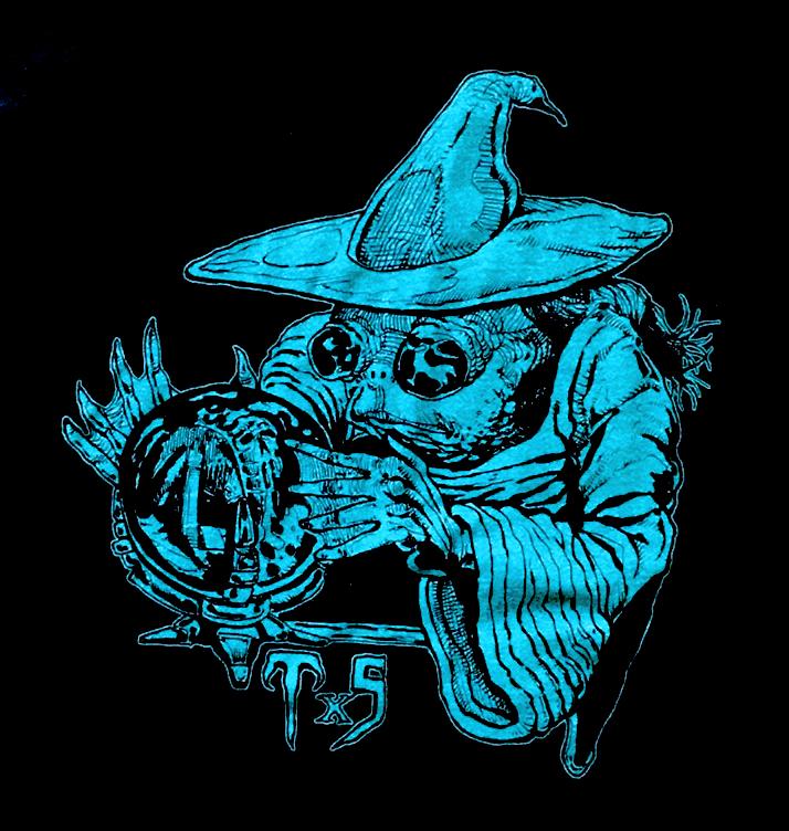 TxS Frog Wizard T-Shirt